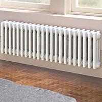 Acova 3 Column radiator, White (W)1042mm (H)300mm
