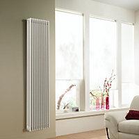 Acova 4 Column radiator, White (W)490mm (H)2000mm