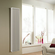 Acova 4 Column radiator, White (W)398mm (H)2000mm