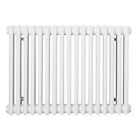 Acova 2 Column radiator, White (W)812mm (H)500mm