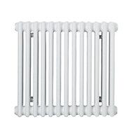 Acova 3 Column Radiator, White (W)628mm (H)500mm