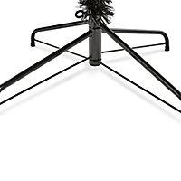 7ft Black tipped Fir Artificial Christmas tree