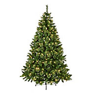 7ft Ridgemere Artificial Christmas tree