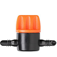 Claber Rainjet 1/4 shut off valve, Pack of 5
