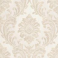 Fine Décor Verona Beige Damask Glitter effect Wallpaper