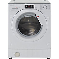 Hoover HBWM 814D-80 White Built-in Washing machine, 8kg