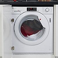 Hoover HBWM 814D-80 White Built-in Washing machine, 8kg
