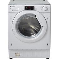 Candy CBWD 7514D-80 White Built-in Condenser Washer dryer, 7kg/5kg