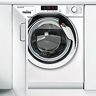 Hoover HBWM 914SC-80 White Built-in Washing machine, 9kg