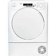 Candy CS C9DF White Freestanding Condenser Tumble dryer, 9kg
