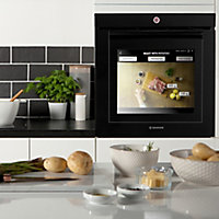 Hoover Touchscreen Vision Black Built-in Electric Single Oven