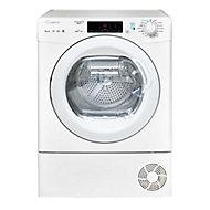 Candy GCSW 496T-80 White Freestanding Condenser Washer dryer, 9kg/6kg