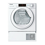 Candy CBTD H7A1TE-80 White Built-in Heat pump Tumble dryer, 7kg