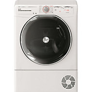 Hoover ATD HY10A2KEX-80 White Freestanding Heat pump Tumble dryer, 10kg