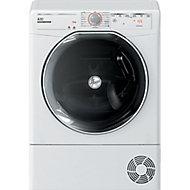 Hoover ATD C10TKEX-80 White Freestanding Condenser Tumble dryer, 10kg