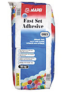 Mapei Fast set Powder Wall & floor tile adhesive, Grey 20kg
