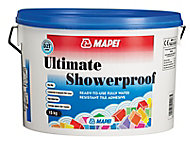 Mapei Ultimate shower proof Ready mixed Cream Wall Tile Adhesive, 15kg