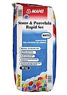 Mapei Fast Set Ready mixed White Tile Powder Adhesive, 20kg