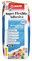 Mapei Super flexible Powder Adhesive, White 20kg