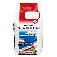 Mapei Flexible Silver grey Wall & floor grout (W)2.5kg