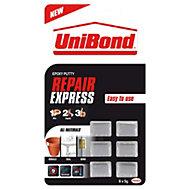 UniBond Repair Express Multi-purpose repair putty & mouldable glue 180g