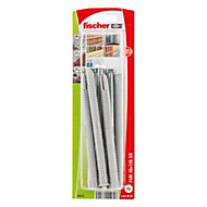 Fischer Frame fixing (Dia)10mm (L)140mm, Pack of 4