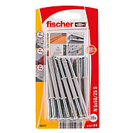 Fischer Countersunk Hammer fixing (L)50mm (Dia)5mm, Pack of 20