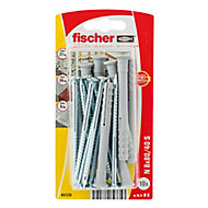 Fischer Countersunk Hammer fixing (L)80mm (Dia)8mm, Pack of 10