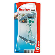 Fischer Spring toggle (L)80mm (Dia)14mm, Pack of 2