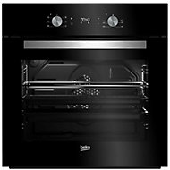 Beko BQE24300B Black Built-in Electric Single Multifunction Oven