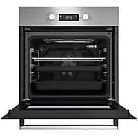 Beko BQE22300X Silver Built-in Electric Single Multifunction Oven