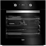 Beko BQM24301BCS Black Built-in Electric Single Multifunction Oven