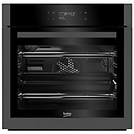 Beko BQM29500DXC Black Built-in Electric Single Multifunction Oven