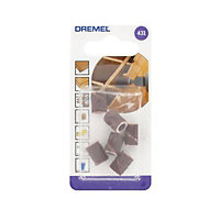 Dremel 60 grit Sanding band (Dia)6.4mm, Pack of 6