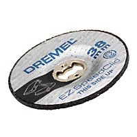 Dremel Grinding wheel (Dia)38mm, Pack of 2