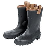 Dunlop Black Rigger boots, Size 7