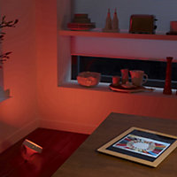 Philips Hue LED Iris light colour changing mood smart lamp