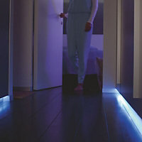 Philips Hue Dimmable LED 1600lm Multicolour Smart light strip extension pack 1m