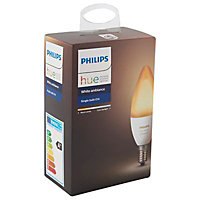 Philips E14 6W 650lm Candle Cool white LED Dimmable Light bulb