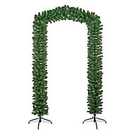 8ft Artificial Christmas tree arch