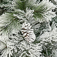 8ft Lumi Spruce Artificial Christmas tree