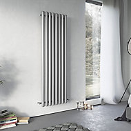 Ximax Vulkan Vertical Radiator, Grey (W)435mm (H)1800mm