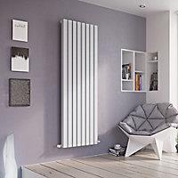 Ximax Vulkan Square Vertical Designer radiator White (H)1800 mm (W)435 mm