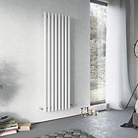 Ximax Vulkan Vertical Designer radiator White (H)1800 mm (W)585 mm