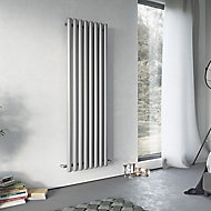 Ximax Vulkan Vertical Radiator, Grey (W)585mm (H)1800mm