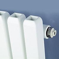 Ximax Supra Square Vertical Designer Radiator, White (W)470mm (H)1800mm