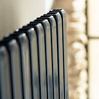 Ximax Supra Square Vertical Radiator, Anthracite (W)470mm (H)1800mm