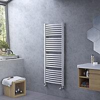 Ximax K4 Vertical Towel radiator, White (W)480mm (H)765mm