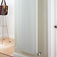 Ximax Supra Vertical Designer radiator White (H)1800 mm (W)550 mm