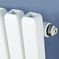 Ximax Supra Square Vertical Designer Radiator, White (W)550mm (H)1800mm